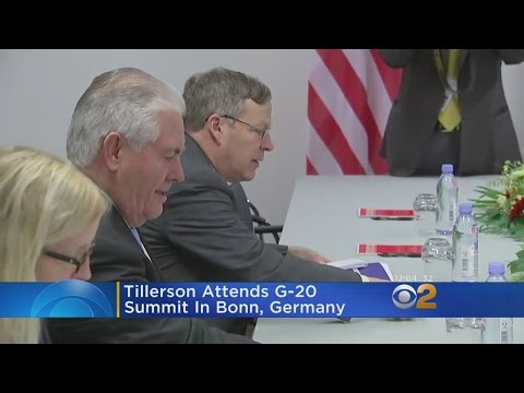 Secretary Of State Tillerson At G-20 Summit