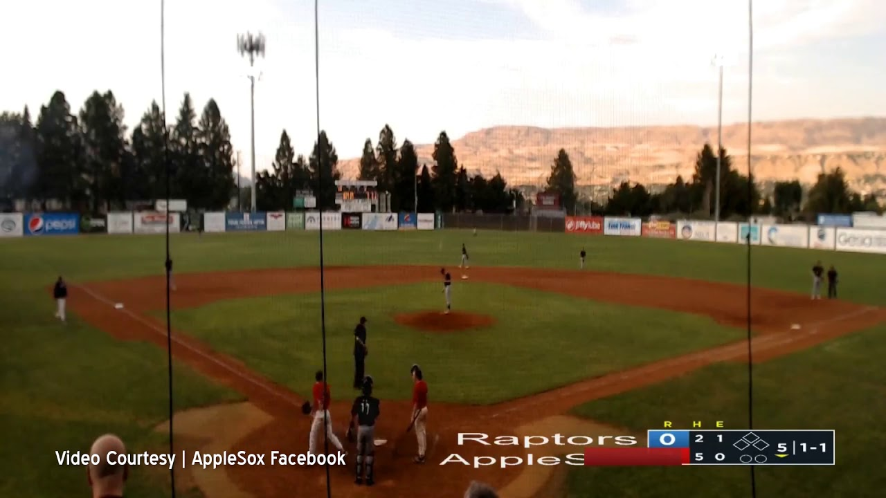AppleSox Back to Back Home Runs 2019-08-07