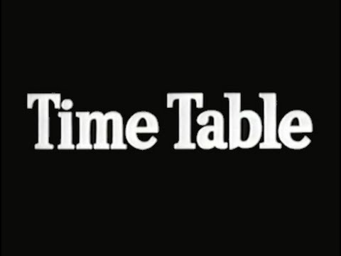 Time Table (1956) [Film Noir] [Drama]