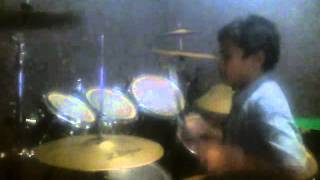 Rahendra drum cover, Sweet child o mine, Gun n Roses, Istana Musik Jombang
