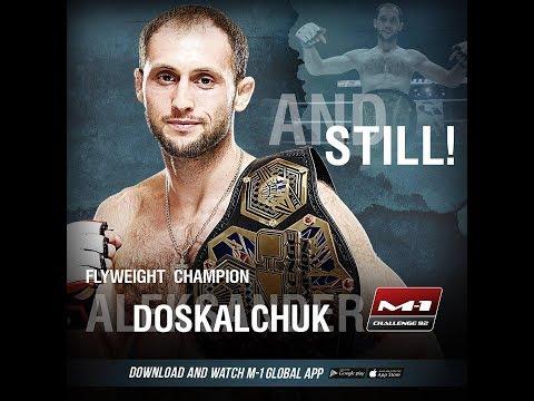 Александр Доскальчук vs Арман Ашимов, M 1 Challenge 92