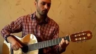 """Весна"" - Воплі Відоплясова | соло кавер на гитаре В.Трощинков | уроки гитары Киев и Скайп"