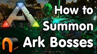 Ark How to Summon the Bosses (Brood Mother)