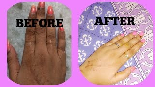 How to do a Manicure at home(no machine/tool) using natural products