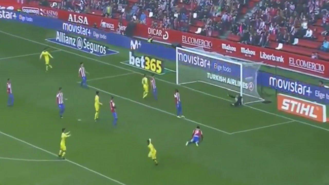 Download Sporting Gijon vs Villarreal 1 3   All Goals  Extended Highlights   17 12 2016 HD   YouTube