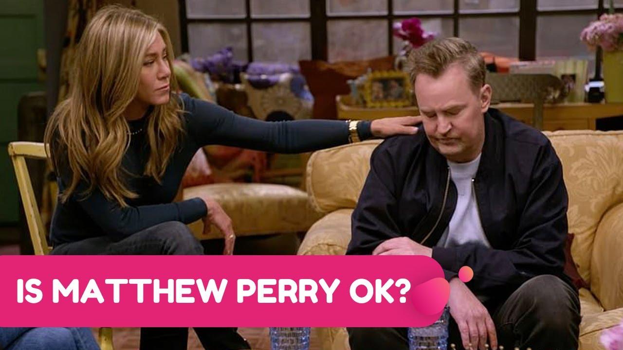 Download Matthew Perry Terrifies Fans As He Slurs Speech During An Interview | Rumour Juice