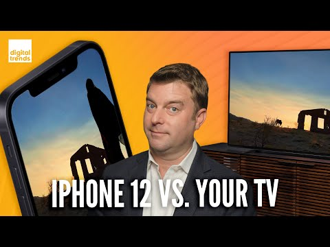 The iPhone 12 OLED display is better than your 4K TV