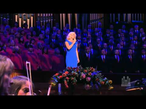 "Katherine Jenkins and the Mormon Tabernacle Choir sing ""The Prayer"""