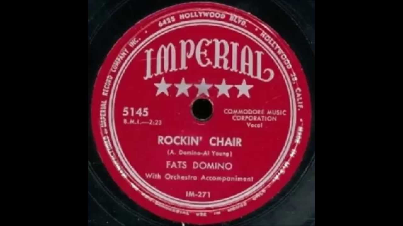 fats domino rockin 39 chair february 1951 youtube. Black Bedroom Furniture Sets. Home Design Ideas