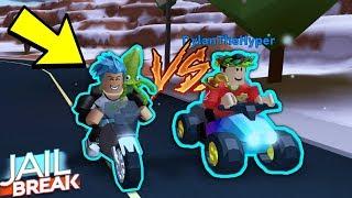 NEUE ATV VS MOTORCYLE IN ROBLOX JAILBREAK!!! *Stufe 5*