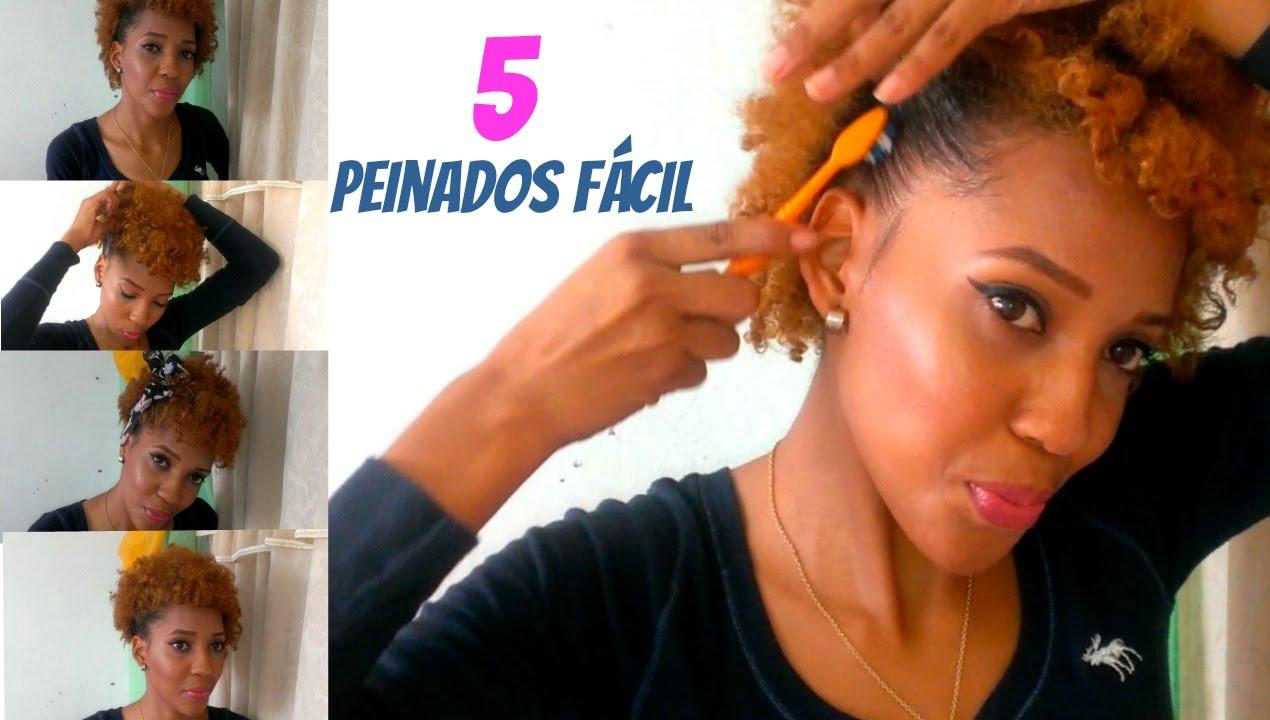Todos Los Peinados Afro Paso A Pasocuidados Fotos Los