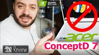 Do not buy Acer ConceptD 7 Pro CN715-71P