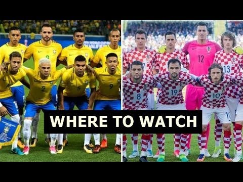 How To Watch Brazil Vs. Croatia: Live Stream, TV Channel