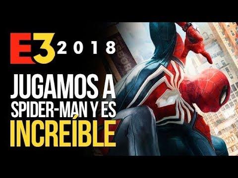 Jugamos a SPIDER-MAN de PS4 y es INCREÍBLE   E3 2018