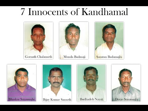 "4,698 views  70  7  SHARE    anto akkara Published on Aug 23, 2018 INNOCENTS IMRISONED A documentary on the HINDU NATIONALIST FRAUD & TRAVESTY OF JUSTICE in KANDHAMAL jungles (of Odisha state in India) with SEVEN INNOCENT CHRISTIANS including a MENTALLY CHALLENGED ILLITERATE languishing in jail for nearly 10 years due to the subversion of the judicial system. Speak up for these VOICELESS by SIGNING the online petition for their release at WWW.RELEASE7INNOCENTS.COM   Scripted & directed by journalist ANTO AKKARA who has been pursuing TRUTH & JUSTICE for a VOICELESS PEOPLE for a decade. This documentary - visual presentation of the investigative book 'WHO KILLED SWAMI LAXMANANANDA?' -   was launched on August 23, 2018 in New Delhi on the 10th anniversary of Kandhamal.   'Satyameva Jayate' …. Truth alone triumphs!!! Category People & Blogs Music in this video Learn more Listen ad-free with YouTube Premium Song Home Wind Artist John August Album Spirit Wind Licensed to YouTube by The Orchard Music (on behalf of Lifescapes), and 3 Music Rights Societies 12 Comments  Padre Sha Naduvathaniyil Add a public comment... Subadh Naik Subadh Naik 3 days ago Wish and Pray that such incident may not take place in any part of the world and justice should be provided to the innocents...God Bless Kandhamal and whole world...  2   Rev. Fr. Paul Pulikkottil Rev. Fr. Paul Pulikkottil 3 days ago The justice should be provided the innocents. we all pray  1   Saibalika Mallick Saibalika Mallick 2 days ago May Lord  bless  you, if you believe in God  1   Pabitramohan Pradhan Pabitramohan Pradhan 1 day ago I know taht National human rights commission takes suo moto cognizance of of a student who does not get scholarship. But it's intriguing how, as mentioned in the documentary, it remained less prompt than it would have been. I know during and aftermath of Kandhmal violence that was orchestrated by right wing hindu groups no one, Except the Indian rationalists, came in support of the truth. I am eye witness to what happened in Kandhmal. I have witnessed the nasty designs of inciting violence by right wing hindu groups in the name of religion is no more a secret to the world. A day will come the sword will be met by a bigger sword.     SUZU HOMADE 2 days ago (edited) Mo more Riots !!! No more violence !! Release 7 innocents !!! Need justice !!!  Susmita Pradhan. Survivor of Kandhamal Riots. ""KANDHAMAL DAY 2018"" August 25th     Singham king 2 days ago I understand now why Odisha is the poorest state of India and why they are hit and ravaged by powerful cyclones from time to time. It's not a coincidence but a curse, yes really a curse.    Up next AUTOPLAY  4:38 Instant Karma - Instant Justice Compilation Crazy Universe 29M views   4:51 Ground Zero: Kandhamal Encounter Kanak News 4.7K views   32:10 Life Inside Bali's Infamous Kerobokan Prison 