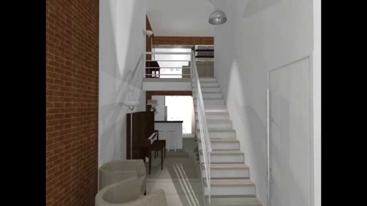 COMO APROVEITAR O HALL COM ESCADA COMO SALA DE PIANO YouTube # Decoração De Hall Com Escada