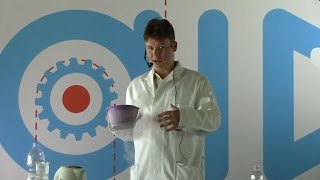 Опыты и лекция о свойствах жидкого азота.