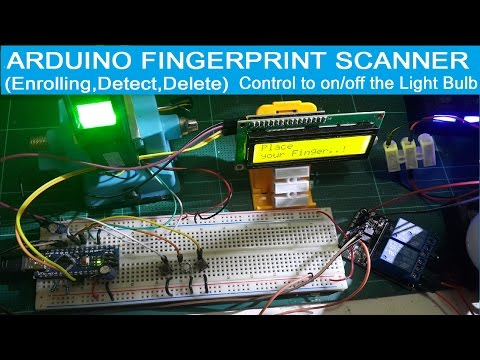Optical Fingerprint Reader Fingerprint lock Sensor Module for Arduino uno r3