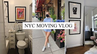 NYC MOVING VLOG / Moving During a Pandemic