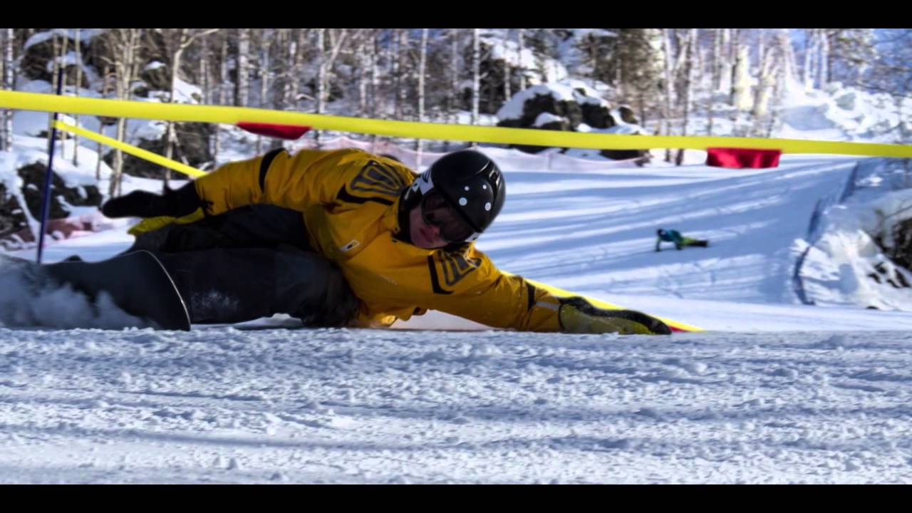 Lock Stock And Two Alpine Snowboards Russian Extreme Slalom Youtube