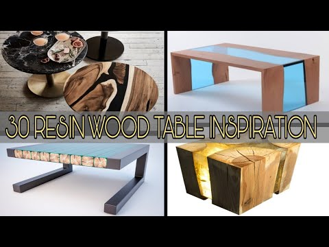 30 RESIN WOOD TABLE INSPIRATION