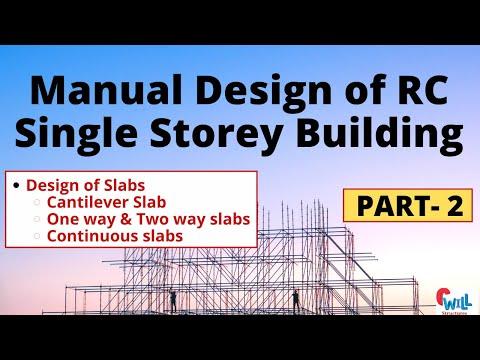 Manual Design of RC Building- Part 2 Civil Engineering