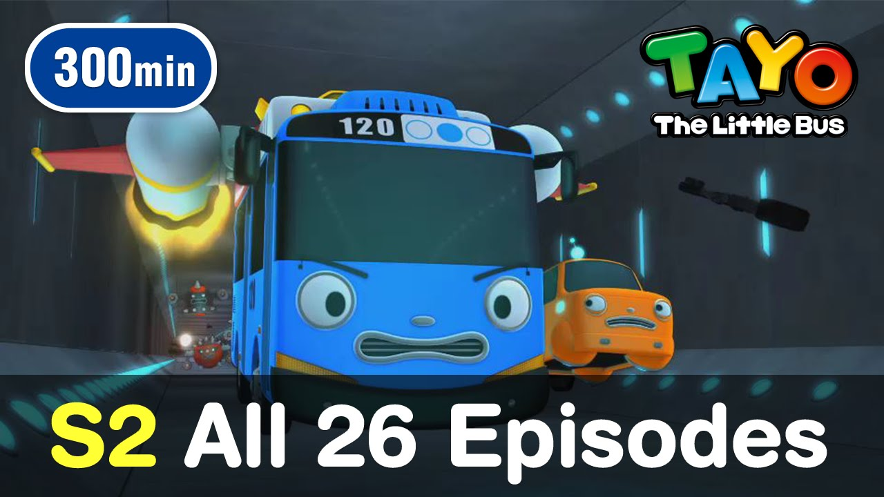 Tayo S2 All 26 Full Episodes Of Season 2 300 Mins Youtube