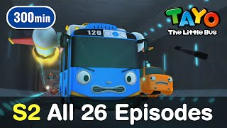 Video [Tayo S2] All 26 Full Episodes of Season 2 (300 mins) download MP3, 3GP, MP4, WEBM, AVI, FLV November 2019