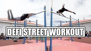 STREET WORKOUT : Duel de Tricks avec LES LOUPS DU STREET 💪 (Game of B.A.R.Z)