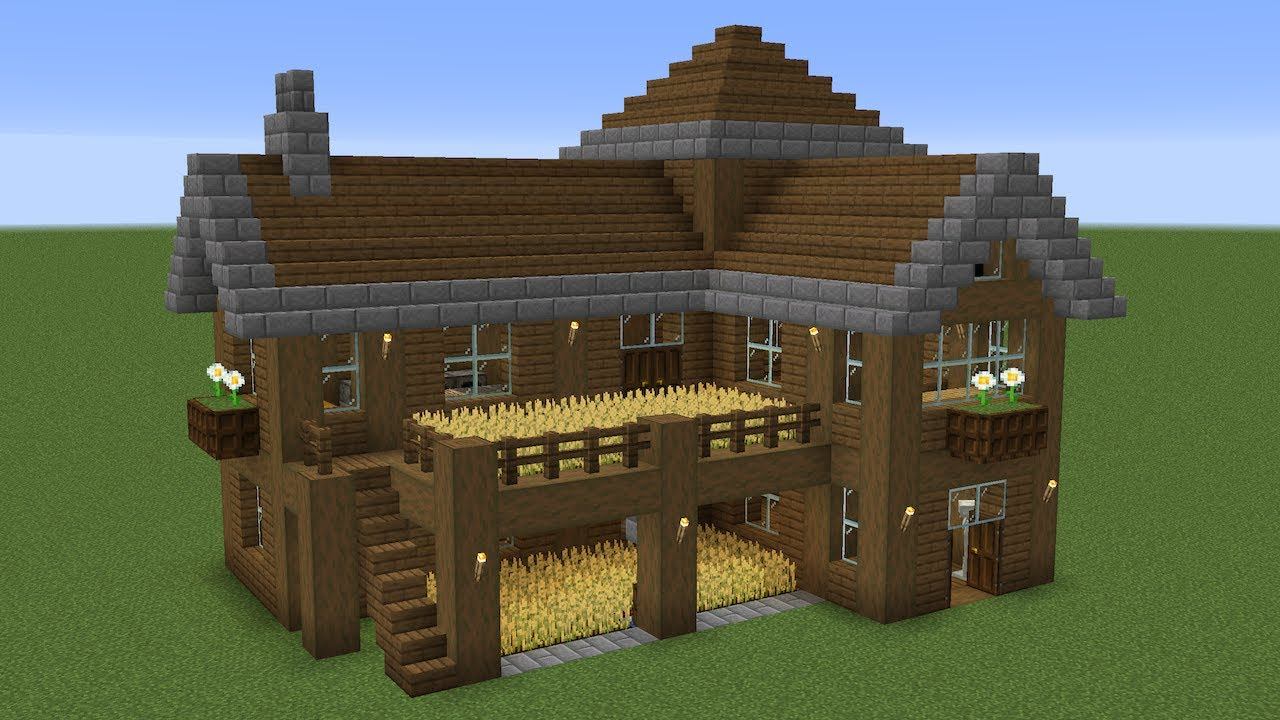 Minecraft - How to build a spruce survival house