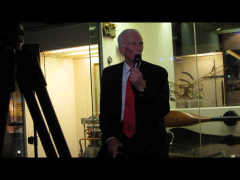"""Captain Eugene Cernan Speaks At The Special Preview Screening Of """"The Last Man On The Moon"""""""