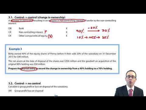 Step disposals - Control to control- ACCA (SBR) lectures