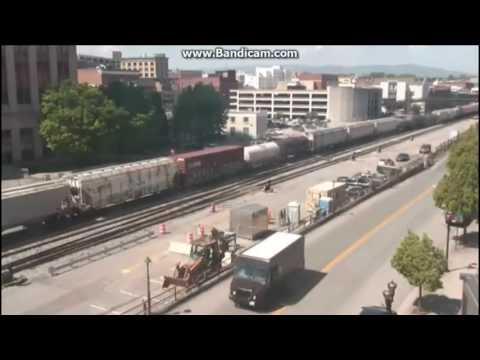 Epic Spring Time webcam railfanning Episode 4: April 27 - 30, 2017