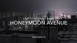 [EMPTY ARENA + RAIN] Ariana Grande - Honeymoon Avenue