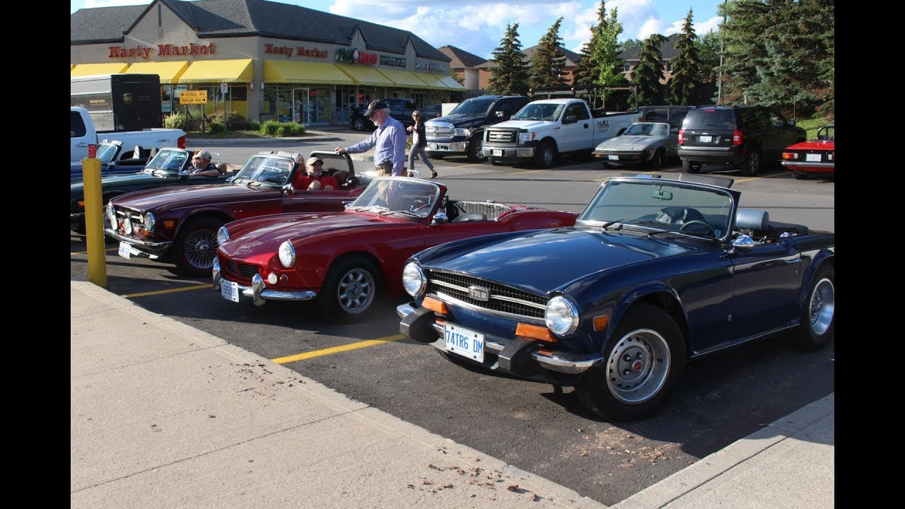 summer solstice drive with toronto triumph club - youtube