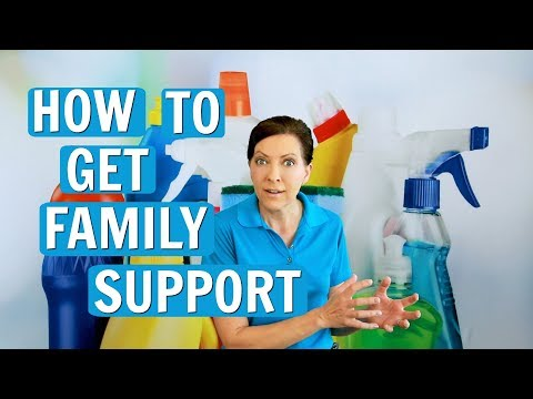 How to Get Family Support (House Cleaning Biz Owners)