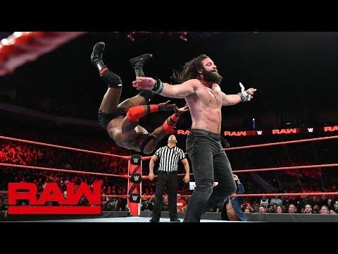 Elias vs. Bobby Lashley - No Disqualification Match: Raw, Nov. 26, 2018