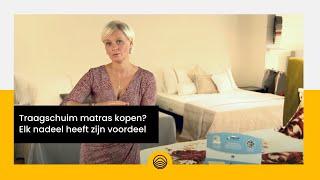 Traagschuim matras kopen? Elk nadeel heeft zijn voordeel :)