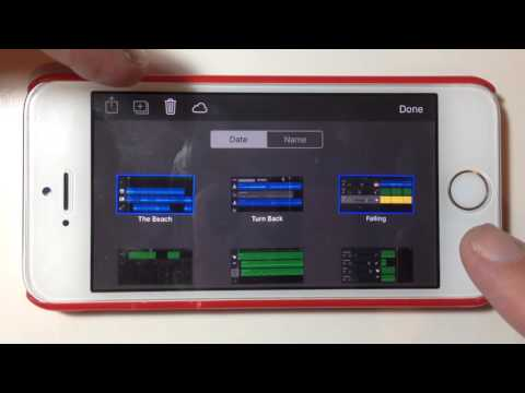 Copying or Backing Up Songs From iOS to PC Using iTunes - GarageBand for iPhone Quick Tip