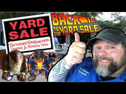 AMAZING Yard Sale Hunt and More for a VINTAGE HAUL!
