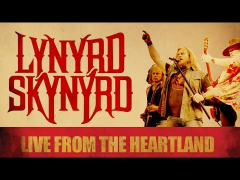 "DVD LYNYRD SKYNYRD ""LIVE FROM THE HEARTLAND"" COMPLETO ""OFICIAL"""