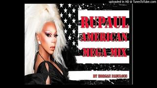 RUPAUL AMERICAN MEGA MIX ♡ Morgan Fabulous