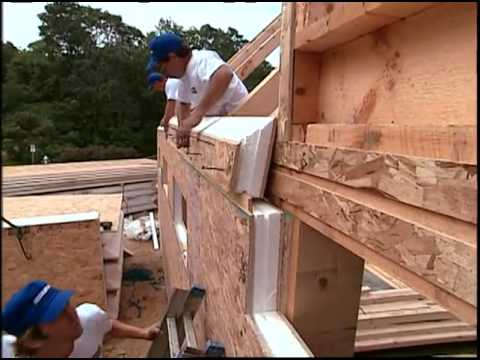 Installing Insulspan Structural Insulated Panels Youtube