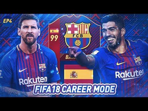LUIS SUÁREZ THE BEST FREE KICK TAKER!?   FIFA 18 Career Mode: FC Barcelona #4