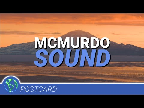 McMurdo Sound Postcard - A Fire In The Ice