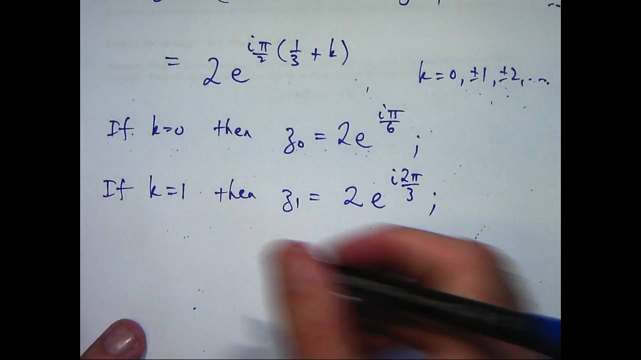 how to find complex numbers