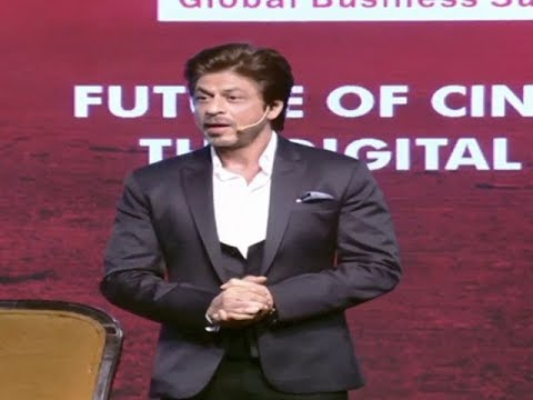 Shah Rukh Khan at his wittiest best at ET GBS 2018