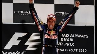 Sebastian Vettel - 2012 Formula One World Champion