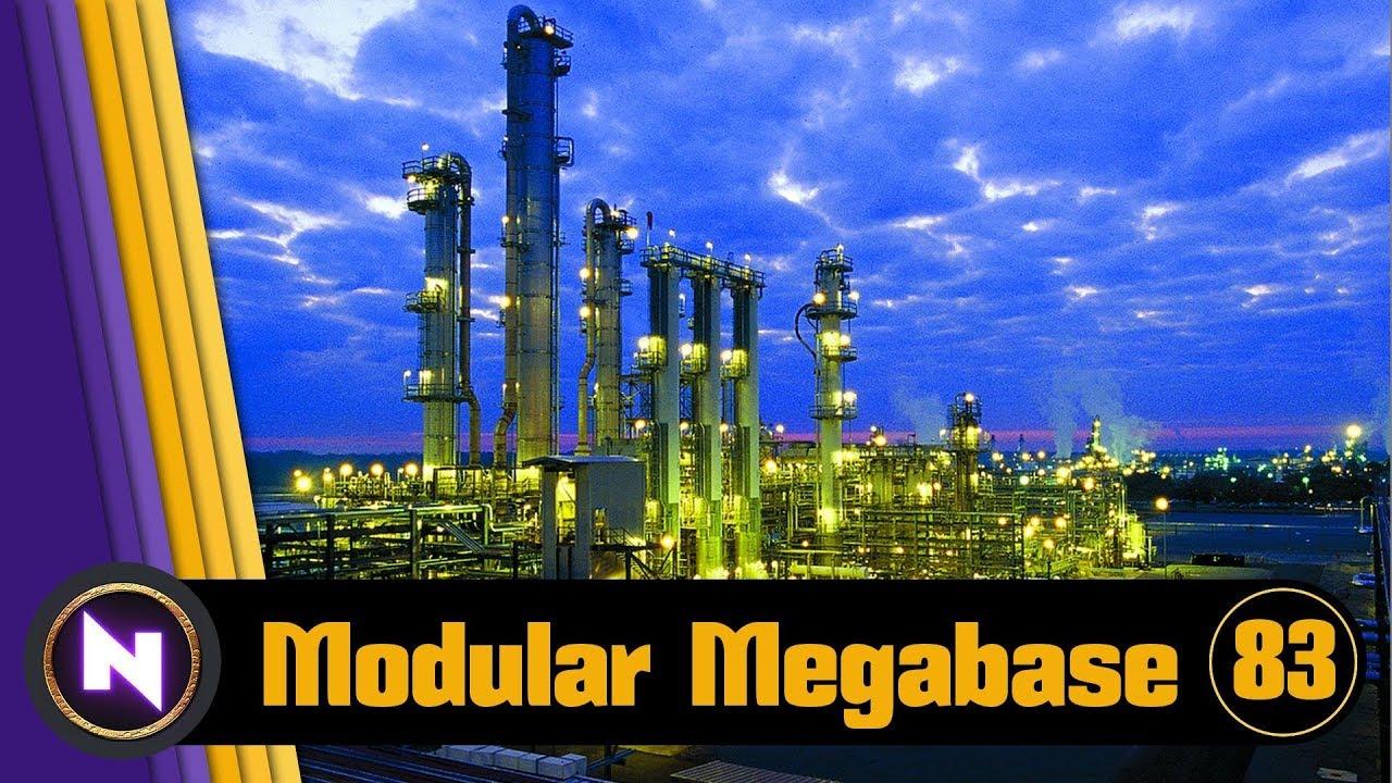 Factorio 0 16 Modular Megabase - E83 TRAINS EVERYWHERE