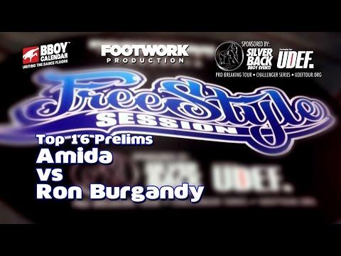Freestyle Session 2014 - Amida Vs Ron Burgandy - Top 16